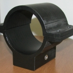 HDPE Black hawk helicopter bracket
