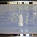 V8 Super Car Plaque