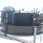 Completion of  9000 Ltr Containment Bund with Tank and fittings