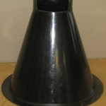 PE Chute Cone with Flange