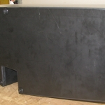 Large Black Water Waste Tank