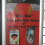 Slim line light box