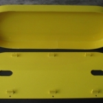 Inner of Yellow HDPE Machine Guard