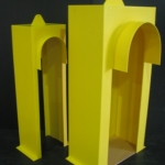 Yellow HDPE Gold Mine Guards