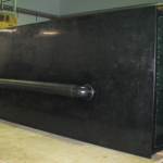Large Black HDPE Water Tank