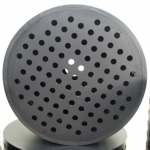 Large HDPE strainer with circular holes