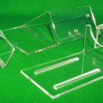 Individual Clear Acrylic units produced by Laser Cutting