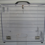 Polycarbonate clear lap top case