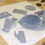 PVC fabrication display board
