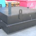 Large industrial PE tank