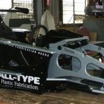 Racing simulator from Plastic Materials