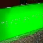 Opal Acrylic illuminated light box