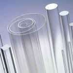 Assortment of Clear Acrylic Tubes