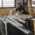 Line Bending Process of DIsplays Stands