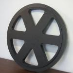 Large industrial PE disc