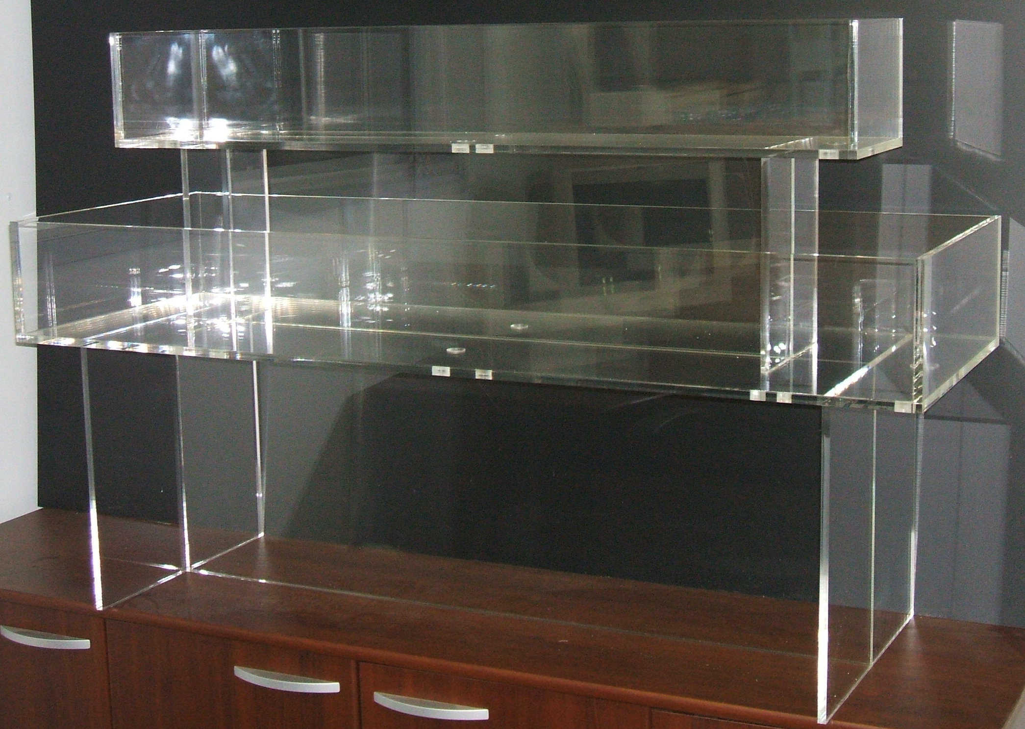 All Type Plastic Fabrication 187 Display Cabinets
