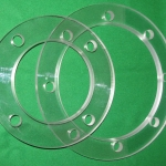 Clear Polycarbonate Pump Rings