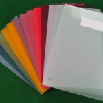 Satin Ice Acrylic Samples