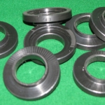 Turned HDPE Parts from the Lathe