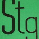 CNC cut Black Acrylic Letters