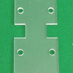 CNC Routered Acrylic part