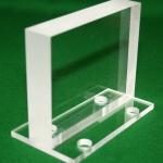 A Typically Cut CNC Engineering Acrylic Unit