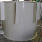 Large Cylinder Water Treatment Tank